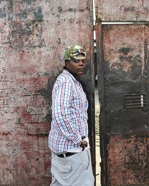Régis Samba-Kounzi, Sylvie, quartier de Kimbanseke, Kinshasa RDC, 2015