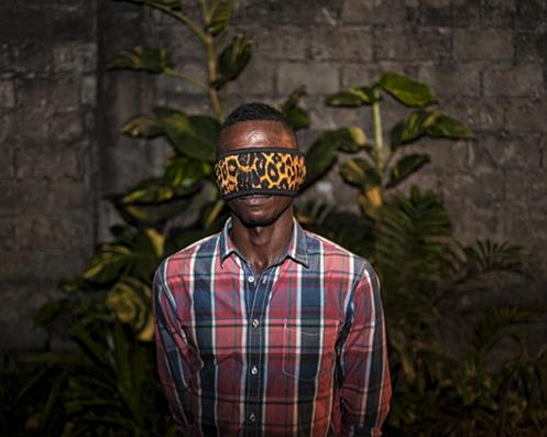Régis Samba-Kounzi, Jean, quartier de la Gombe, KinshasaRDC, 2015