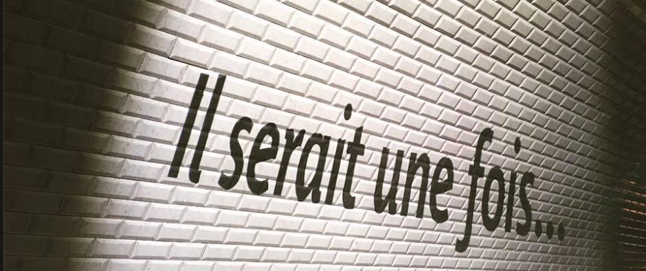 Il serait une fois ; métro Saint-Germain-des-Prés © Christine Marcandier