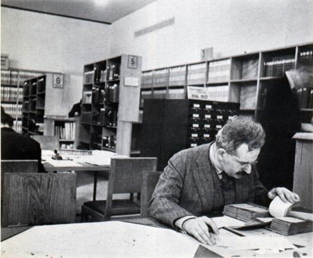 Walter Benjamin en bibliothèque