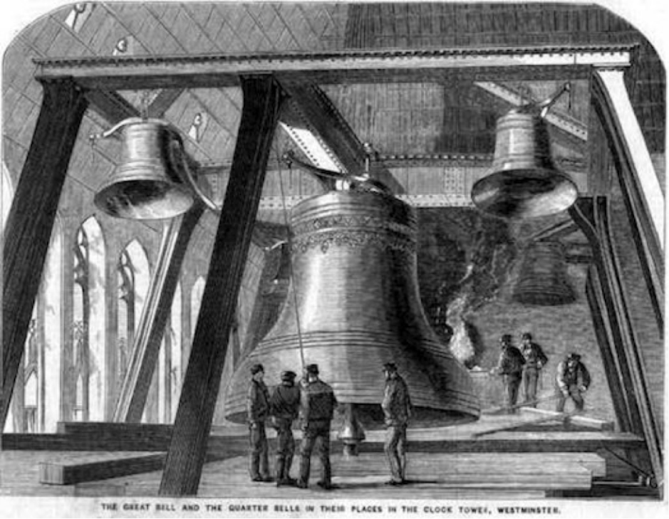 Big Ben, The Illustrated News of the World, December 4 1858