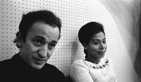 Simone et André Schwarz-Bart © Georges Kelaïditès / Roger-Viollet