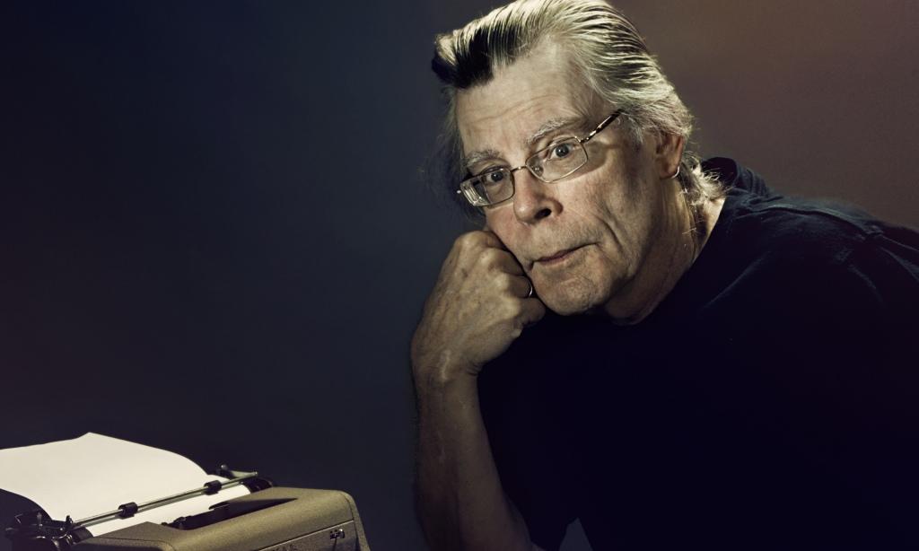 Stephen King. Photograph: Steve Schofield
