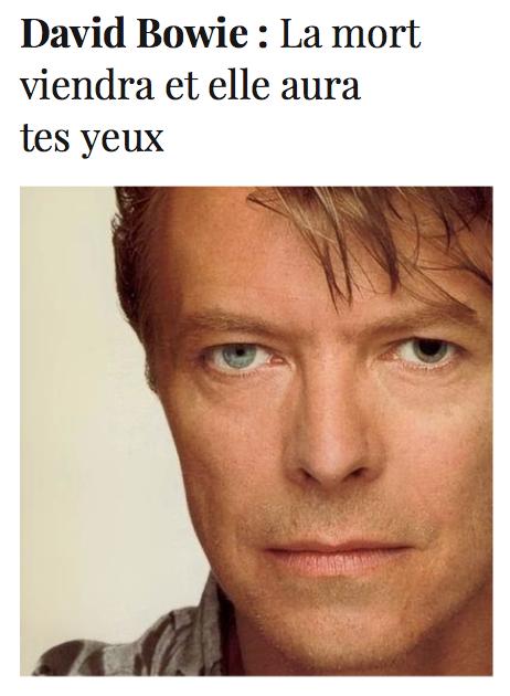 David Bowie - Diacritik