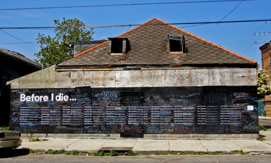 Before-I-Die-NOLA-house - Candy Chang