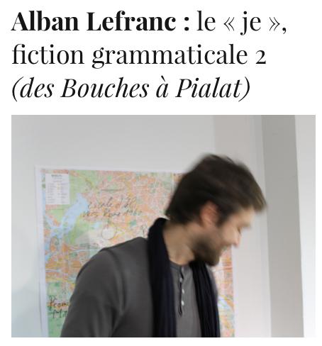 Alban Lefranc