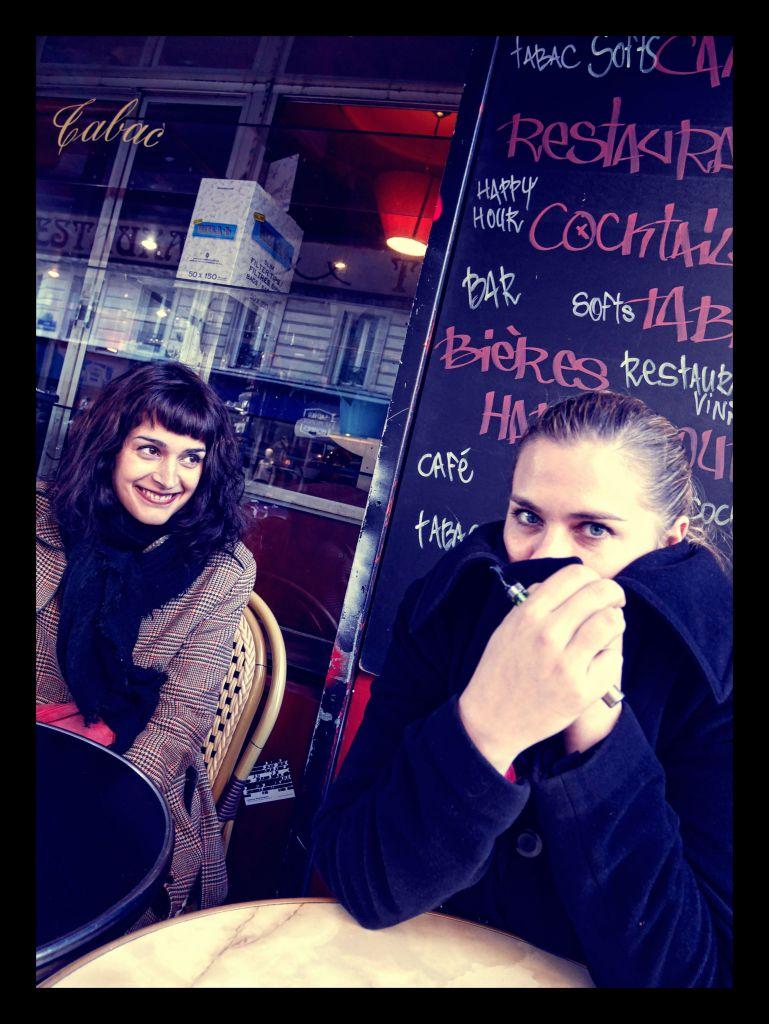 Amandine André et AC Hello photo : JP Cazier