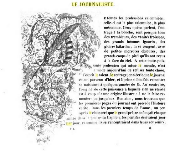 Jules Janin le journaliste Les Français peints par eux-mêmes