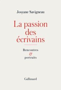 La passion des écrivains Josyane Savigneau