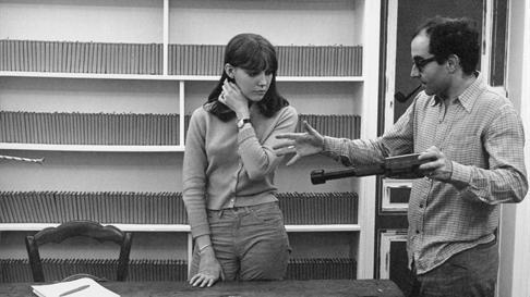 Anne Wiazemsky et Jean-Luc Godard