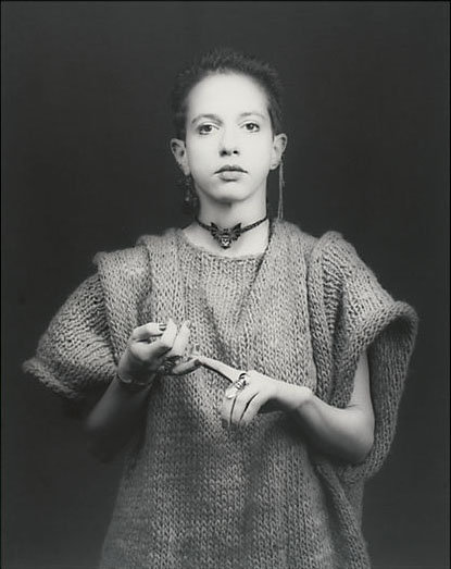 Kathy Acker par Robert Mapplethorpe