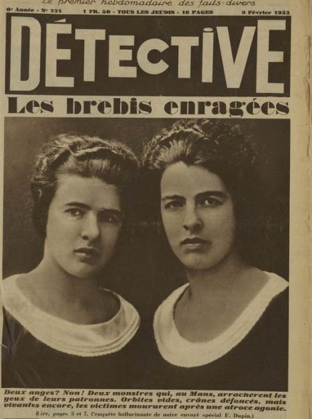 Détective, les sœurs Papin (1933)