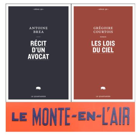 Grgéoire Courtois Antoine Brea Le Monte en l'air