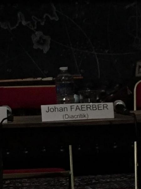 Johan Faerber Diacritik