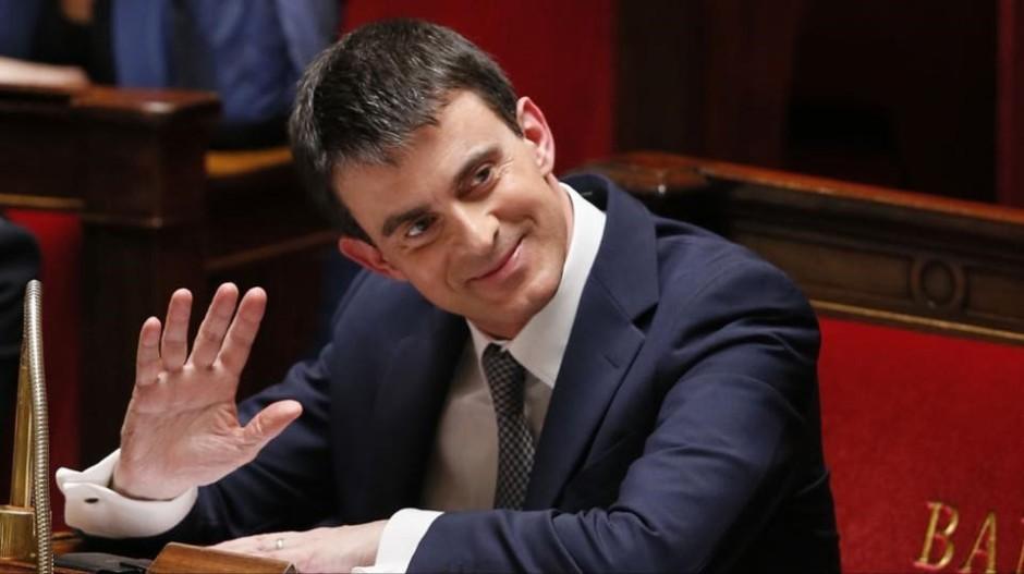 Feu Manuel Valls, coupé deux fois hier soir