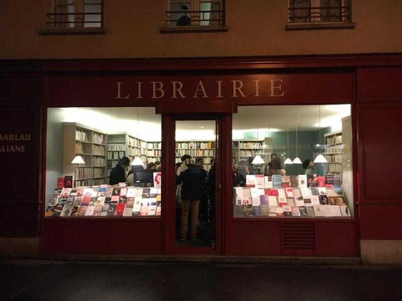 Librairie Michèle Ignazi © Dominique Bry