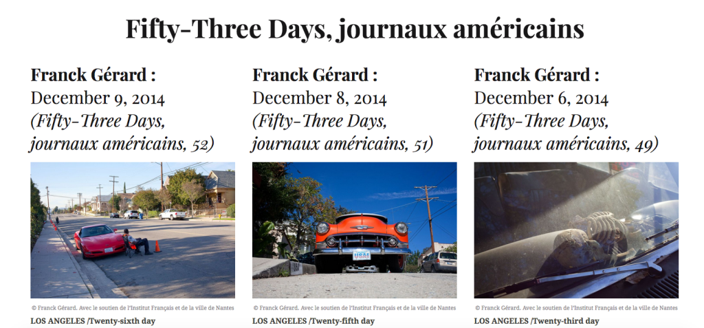 Franck Gérard Fifty-Three Days Diacritik
