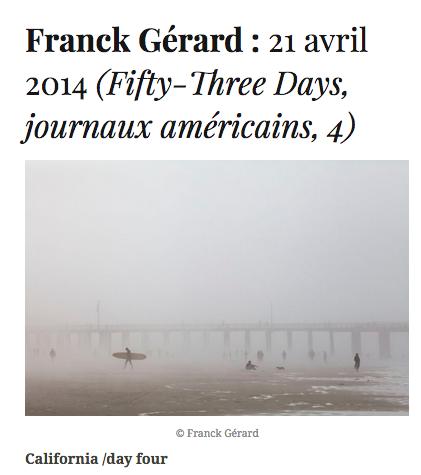 Franck Gérard Fifty-Three Days Diacritik