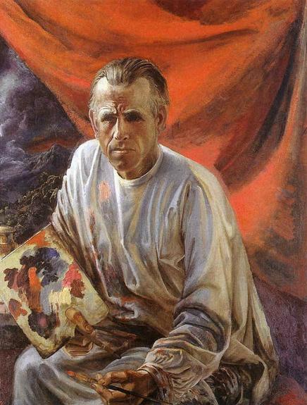 Otto Dix autoportrait 1942