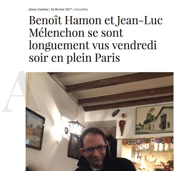 Hamon Mélenchon Diacritik